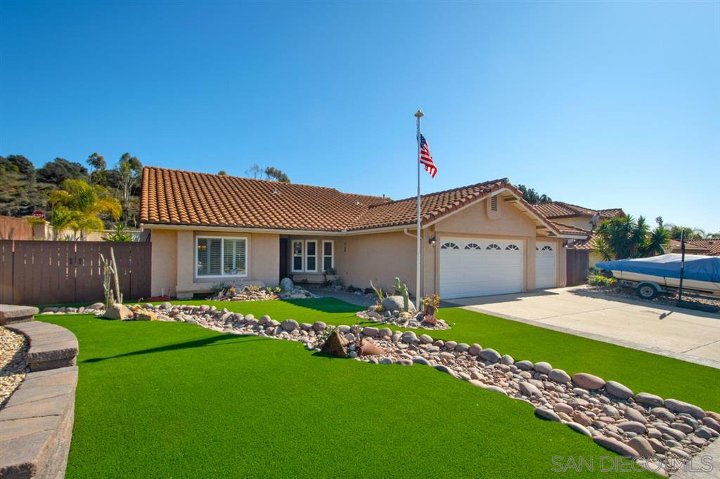 Main Photo: RANCHO SAN DIEGO House for sale : 3 bedrooms : 11781 Calle Trucksess in El Cajon