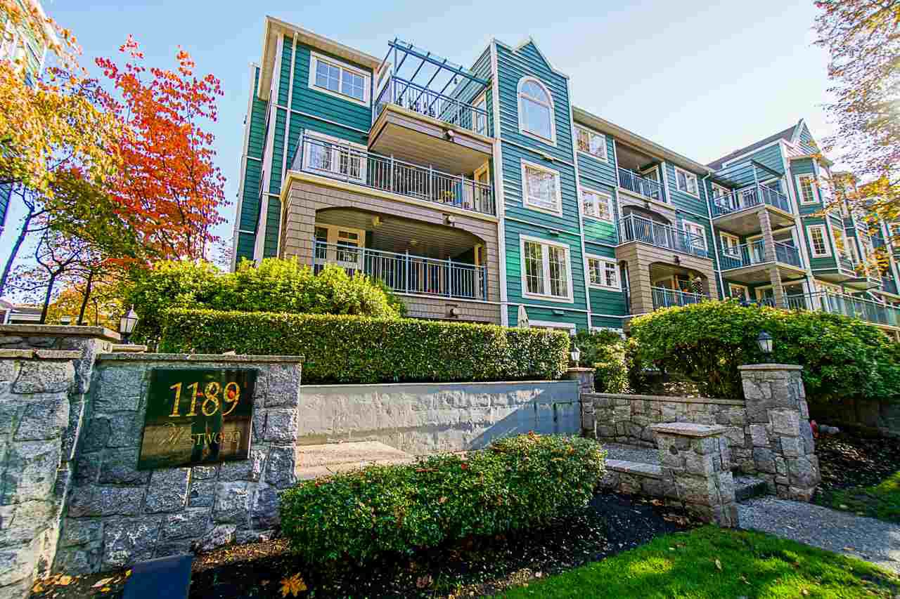 "Main Photo: 311 1189 WESTWOOD Street in Coquitlam: North Coquitlam Condo for sale in ""LAKESIDE"" : MLS®# R2515994"
