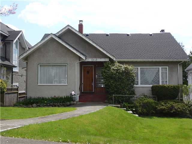 Main Photo: 4042 W 34TH Avenue in Vancouver: Dunbar House for sale (Vancouver West)  : MLS®# V882578