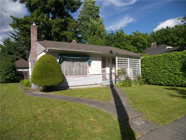 Main Photo: 505 4TH ST in New Westminster: Queens Park House for sale : MLS®# V1015696
