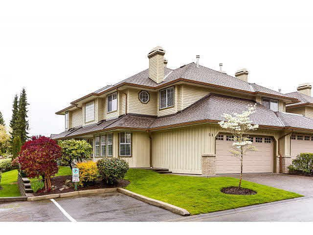 "Main Photo: 54 15860 82 Avenue in Surrey: Fleetwood Tynehead Townhouse for sale in ""Oak Tree"" : MLS®# F1438812"