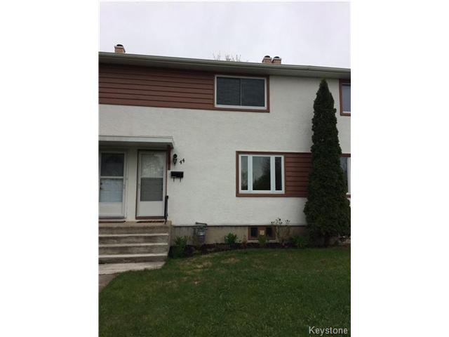 Main Photo: 44 Rampart Bay in WINNIPEG: Manitoba Other Residential for sale : MLS®# 1512951