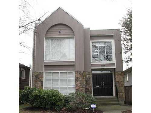 Main Photo: 1536 63RD Ave W in Vancouver West: South Granville Home for sale ()  : MLS®# V873107