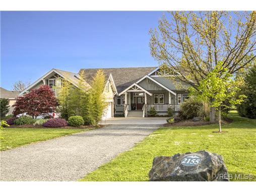 Main Photo: SAANICHTON LUXURY HOME For Sale SOLD in Turgoose, BC Canada: With Ann Watley!