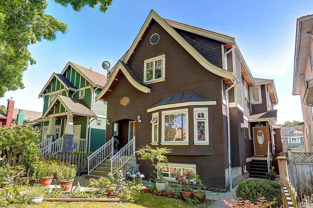Main Photo: 2018 E BROADWAY in Vancouver: Grandview VE House 1/2 Duplex for sale (Vancouver East)  : MLS®# R2095432
