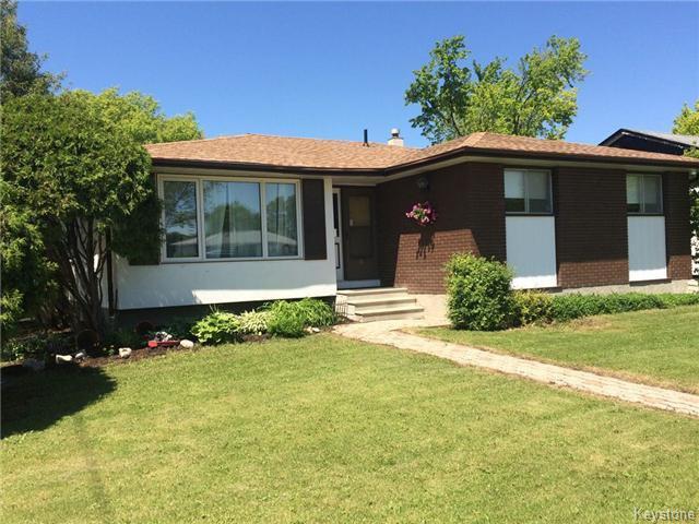 Main Photo: 870 Buchanan Boulevard in Winnipeg: Residential for sale : MLS®# 1608061