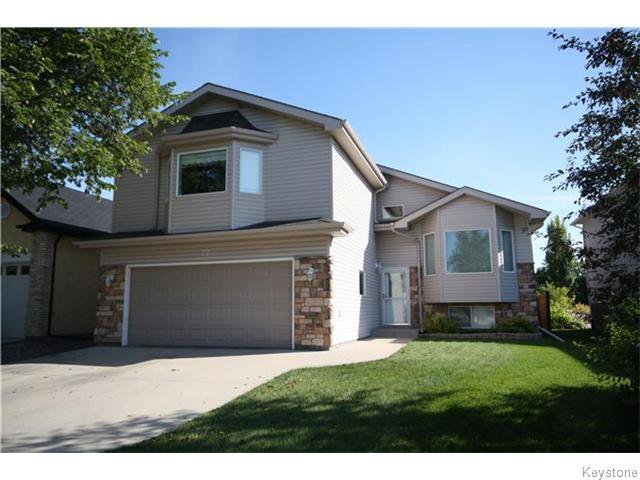 Main Photo: 77 John Huyda Drive in Winnipeg: Algonquin Estates Residential for sale (3H)  : MLS®# 1621310