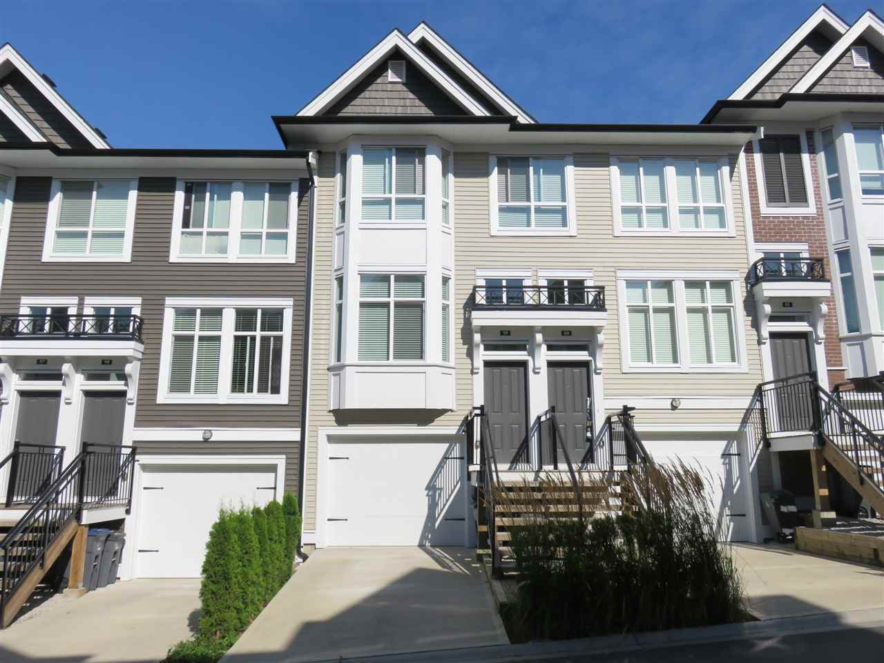 """Main Photo: 59 14433 60 Avenue in Surrey: Sullivan Station Townhouse for sale in """"Brixton"""" : MLS®# R2200859"""