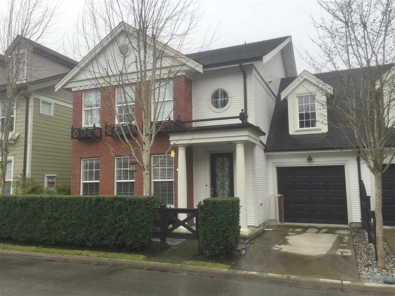 Main Photo: 21 19490 FRASER WAY in : South Meadows Townhouse for sale (Pitt Meadows)  : MLS®# R2035087