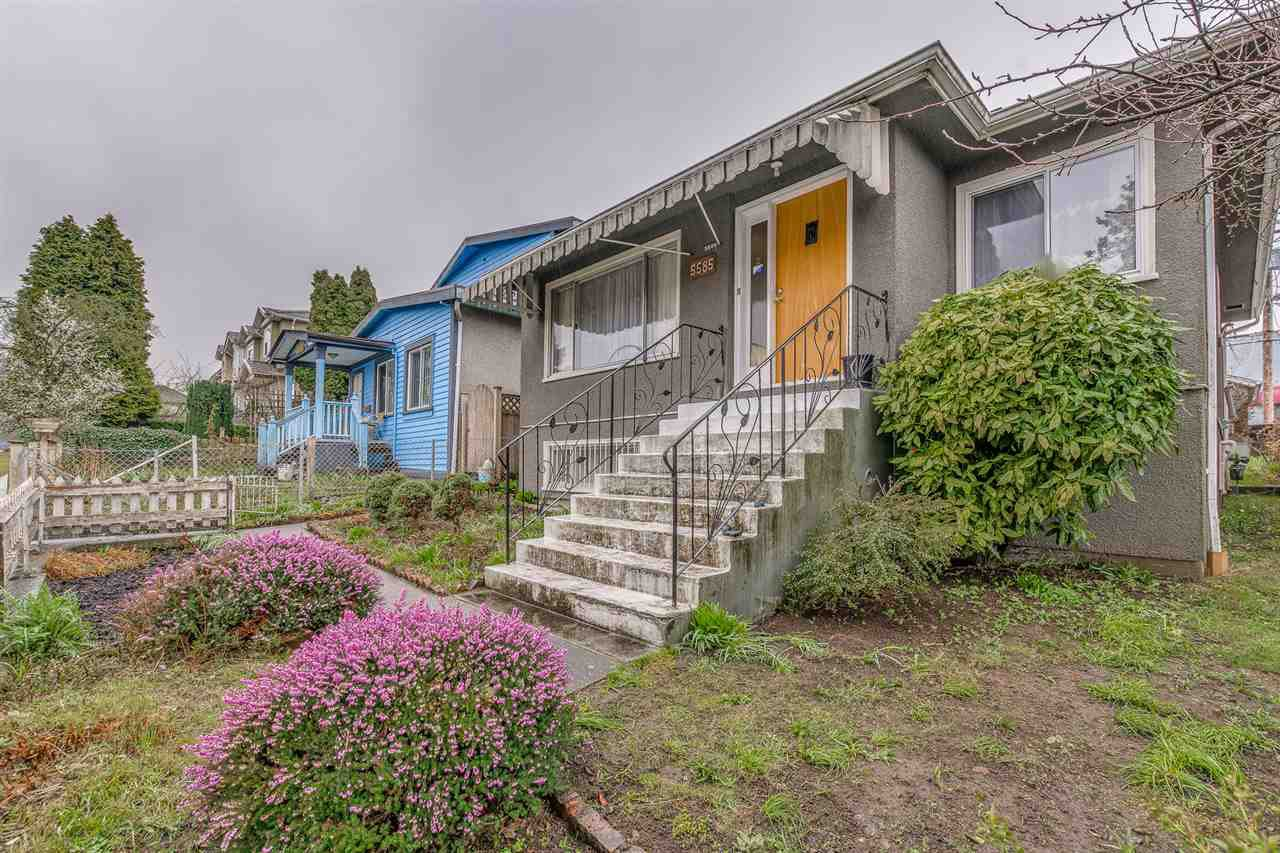 Main Photo: 5585 CHESTER Street in Vancouver: Fraser VE House for sale (Vancouver East)  : MLS®# R2251986