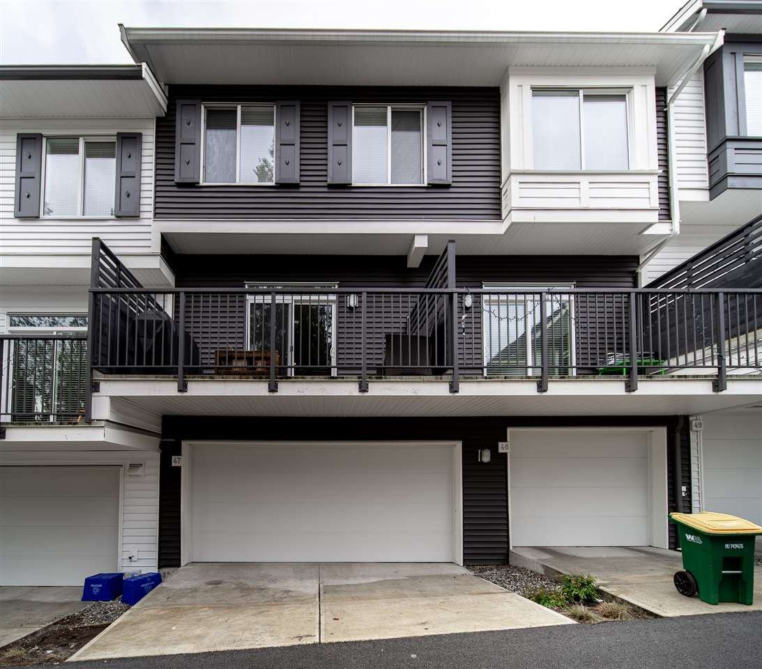 Main Photo: 47 8130 136A Street in Surrey: Bear Creek Green Timbers Townhouse for sale : MLS®# R2324404