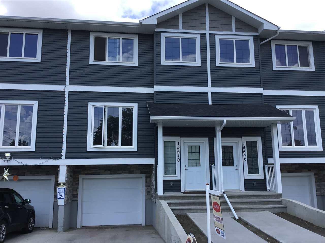 Main Photo: 15610 97 Avenue in Edmonton: Zone 22 Townhouse for sale : MLS®# E4163866