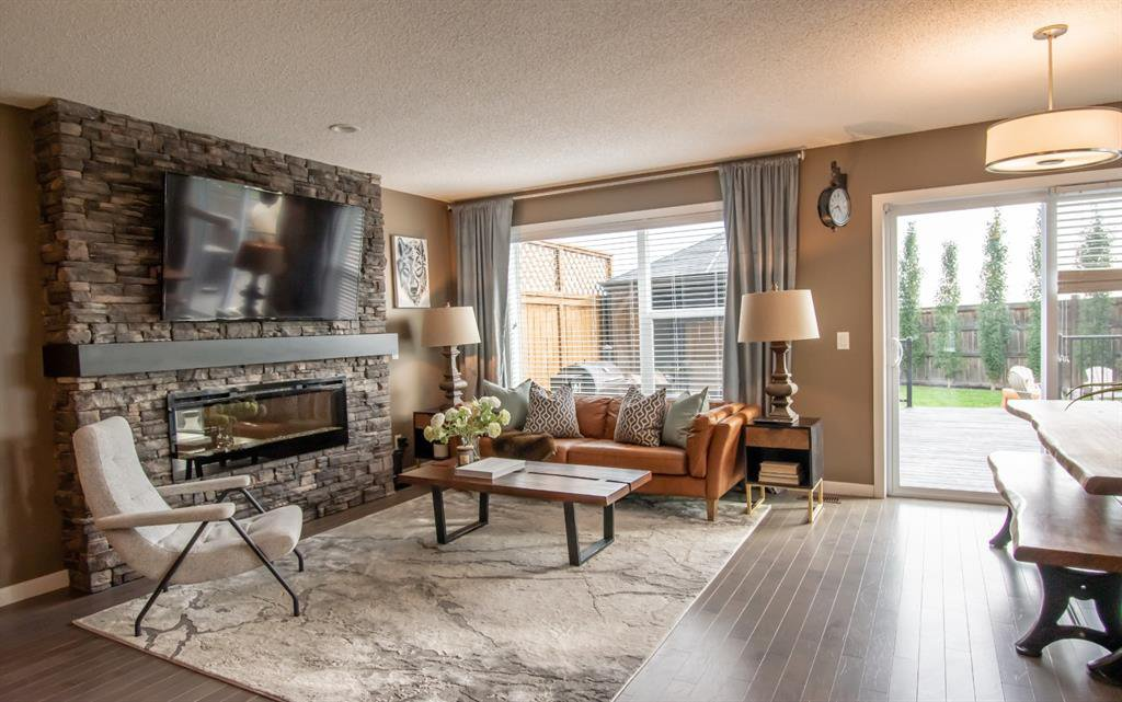 Main Photo: 281 AUBURN MEADOWS Place SE in Calgary: Auburn Bay Duplex for sale : MLS®# A1014528