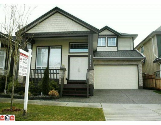 Main Photo: 17178 65TH AV in : Cloverdale BC House for sale : MLS®# F1002628