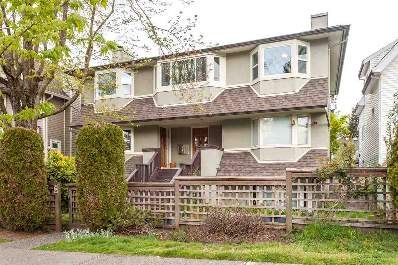 Main Photo: 55 W 15TH Avenue in Vancouver: Mount Pleasant VW Townhouse for sale (Vancouver West)  : MLS®# R2058992