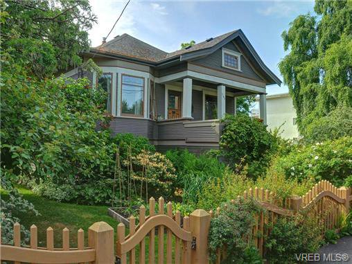 Main Photo: 145 Rendall St in VICTORIA: Vi James Bay Single Family Detached for sale (Victoria)  : MLS®# 734916