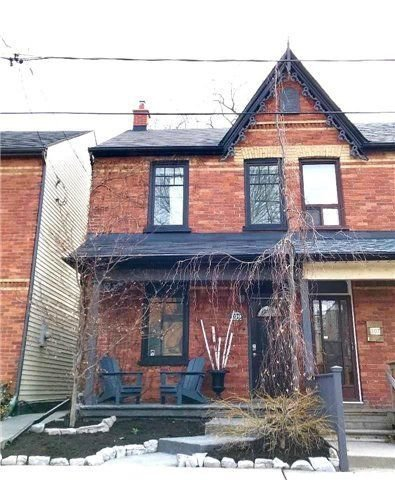 Main Photo: 109 Hamilton Street in Toronto: South Riverdale House (2-Storey) for sale (Toronto E01)  : MLS®# E4098157