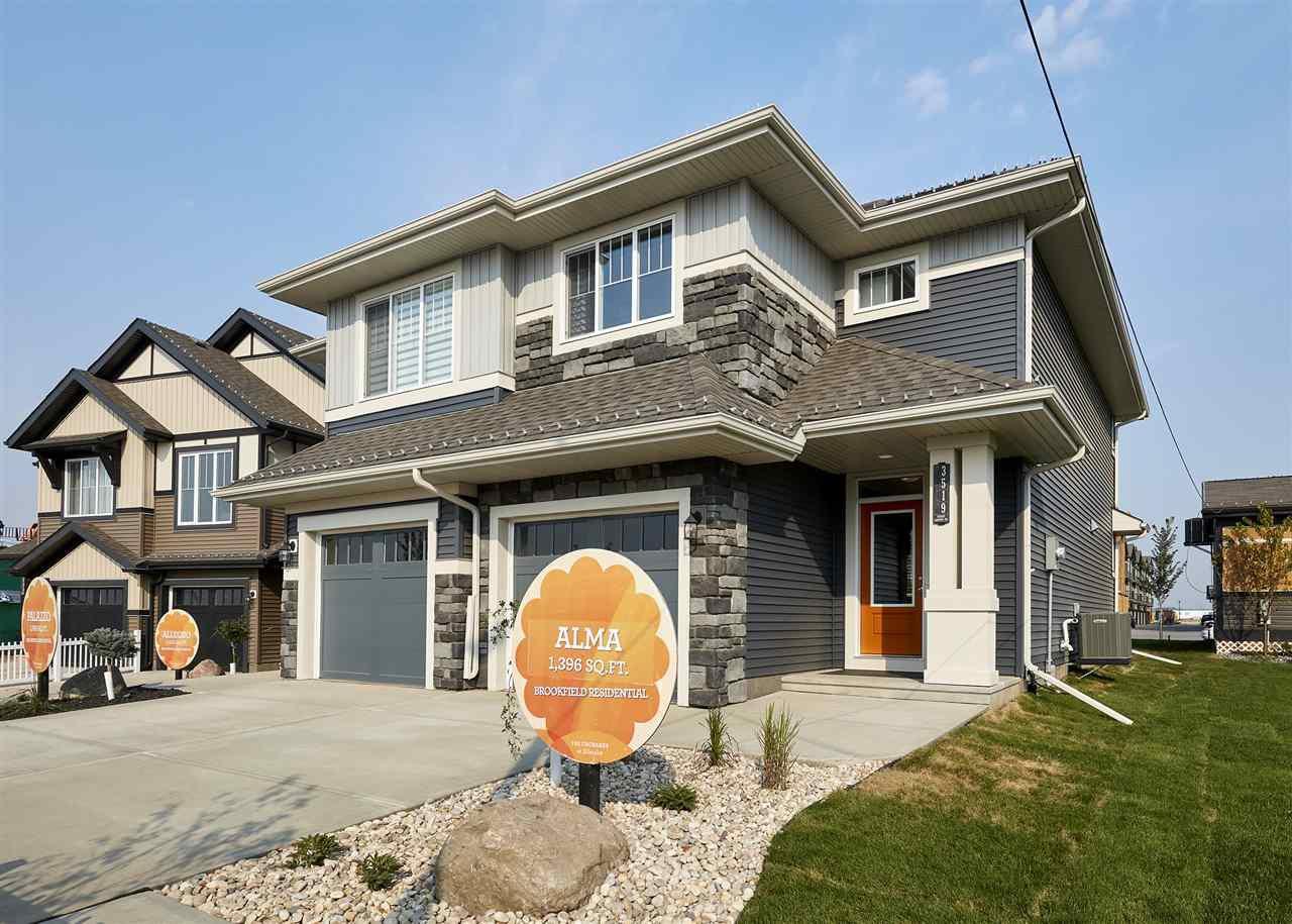 Main Photo: 3519 CHERRY Landing in Edmonton: Zone 53 House Half Duplex for sale : MLS®# E4171892