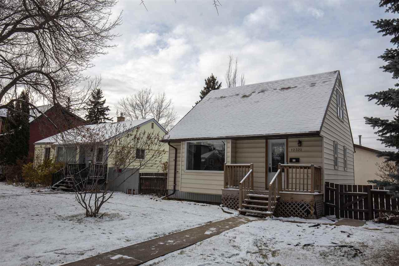 Main Photo: 12322 106 Street in Edmonton: Zone 08 House for sale : MLS®# E4179429