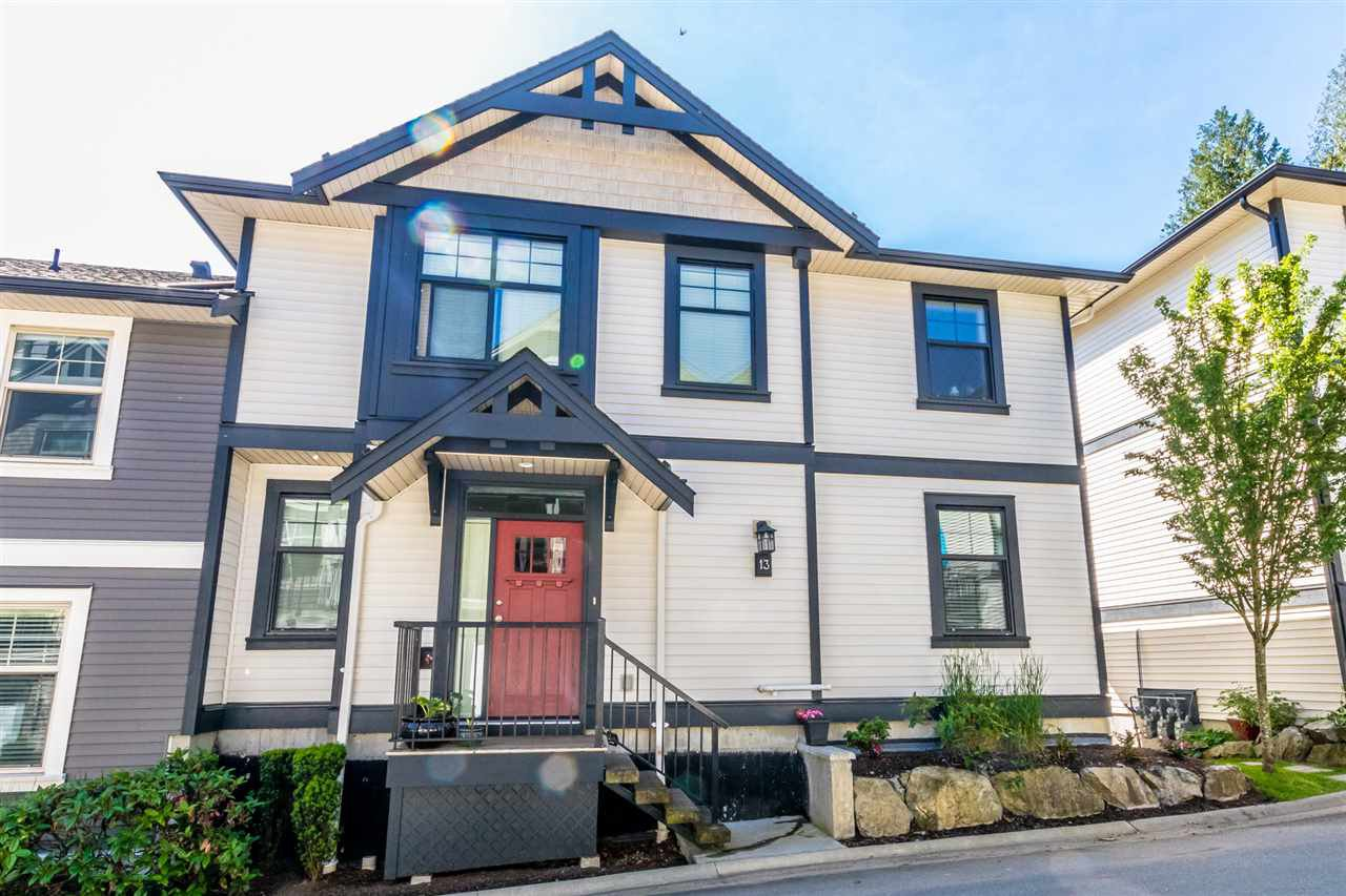 """Main Photo: 13 35298 MARSHALL Road in Abbotsford: Abbotsford East Townhouse for sale in """"EAGLES GATE"""" : MLS®# R2470755"""