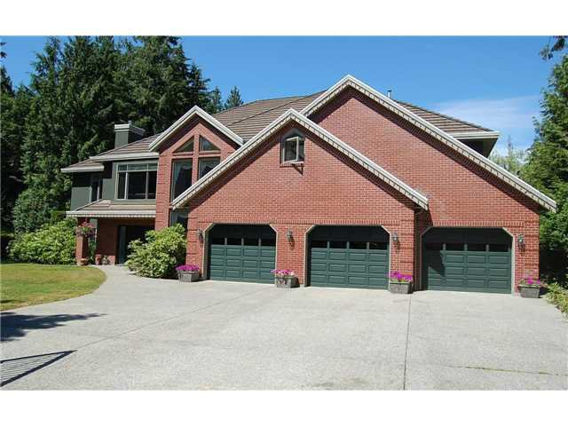 Main Photo: 885 SPENCE Way: Anmore House for sale (Port Moody)  : MLS®# V870965