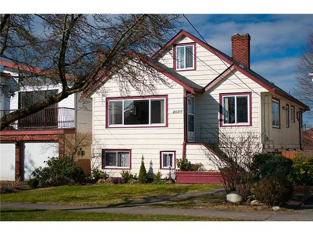 "Main Photo: 4689 GOTHARD Street in Vancouver: Collingwood VE House for sale in ""COLLINGWOOD"" (Vancouver East)  : MLS®# V872513"