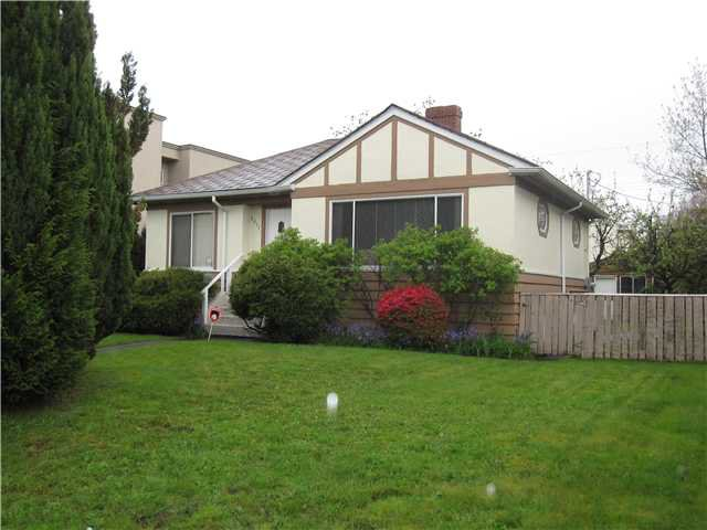 Photo 1: Photos: 2511 W 21ST Avenue in Vancouver: Arbutus House for sale (Vancouver West)  : MLS®# V947534