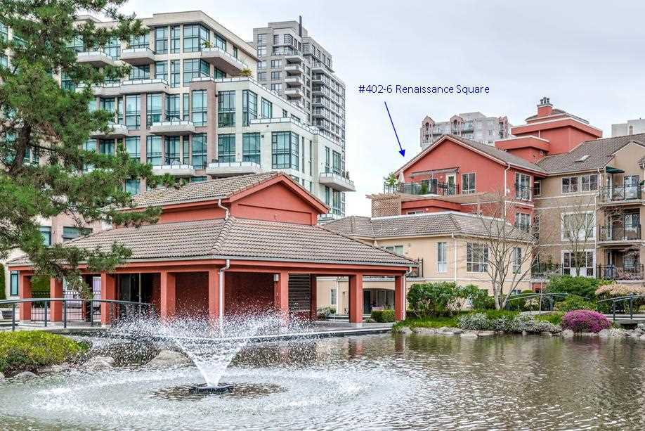 "Main Photo: 402 6 RENAISSANCE Square in New Westminster: Quay Condo for sale in ""RAILTO"" : MLS®# R2045554"
