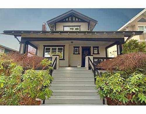 Main Photo: 3760 14TH Ave: Point Grey Home for sale ()  : MLS®# V646665