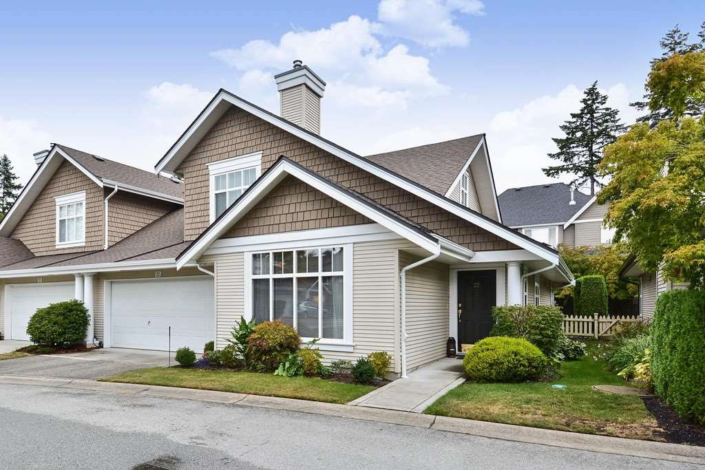 "Main Photo: 22 14877 33RD Avenue in Surrey: King George Corridor Townhouse for sale in ""Sandhurst"" (South Surrey White Rock)  : MLS®# R2206509"