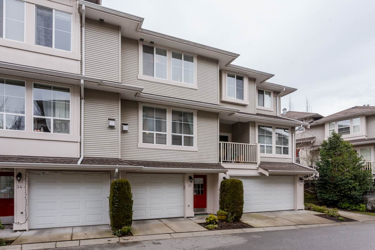 "Main Photo: 33 14952 58 Avenue in Surrey: Sullivan Station Townhouse for sale in ""Highbrae"" : MLS®# R2232617"