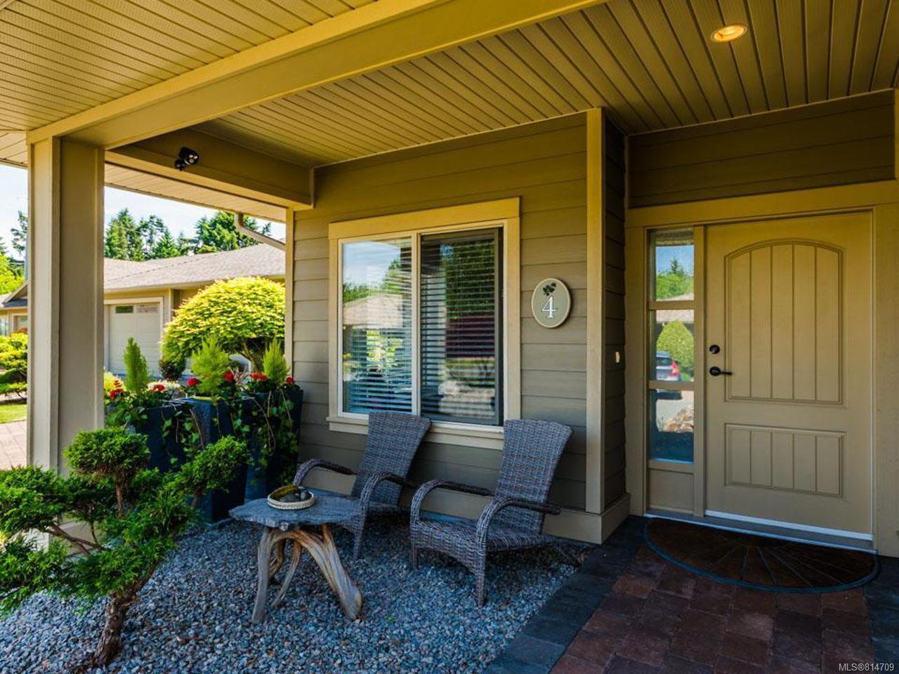 Main Photo: 4 161 Shelly Rd in PARKSVILLE: PQ Parksville Row/Townhouse for sale (Parksville/Qualicum)  : MLS®# 814709