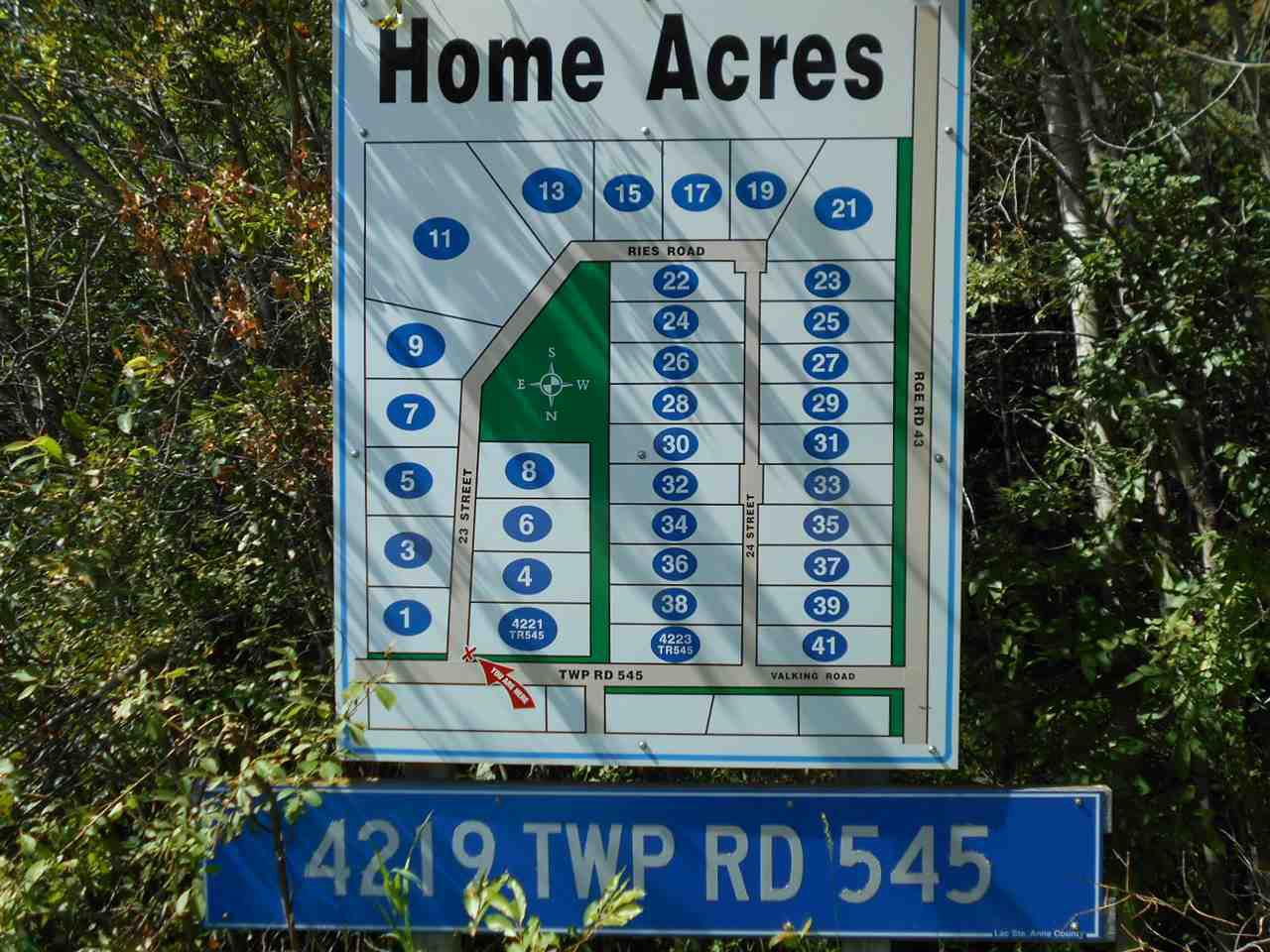 Main Photo: 36-4219 TWP 545: Rural Lac Ste. Anne County Rural Land/Vacant Lot for sale : MLS®# E4167020
