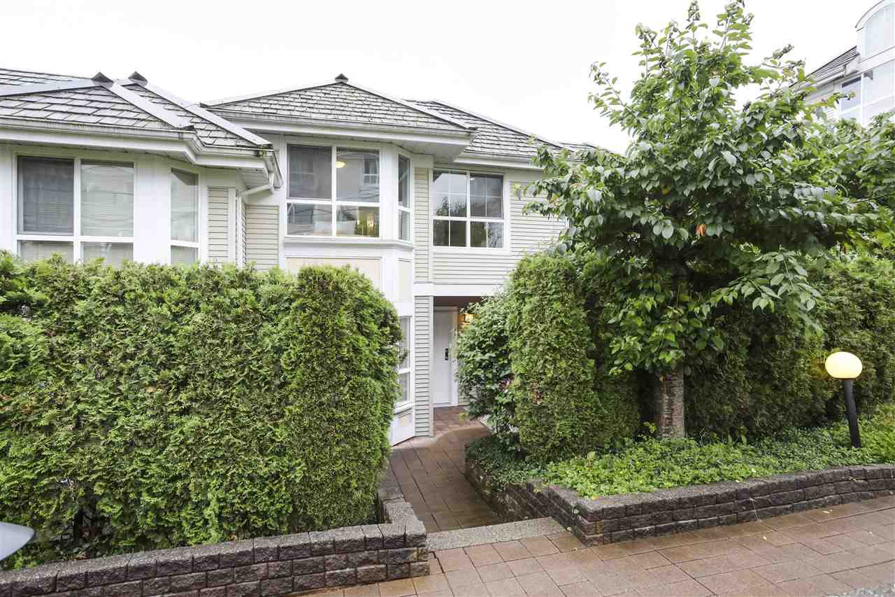 "Main Photo: 212 1413 BRUNETTE Avenue in Coquitlam: Maillardville Townhouse for sale in ""La Galerie"" : MLS®# R2465611"