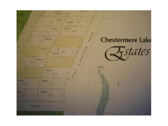Main Photo: 976 EAST CHESTERMERE Drive: Chestermere Vacant Lot for sale : MLS®# C3473690