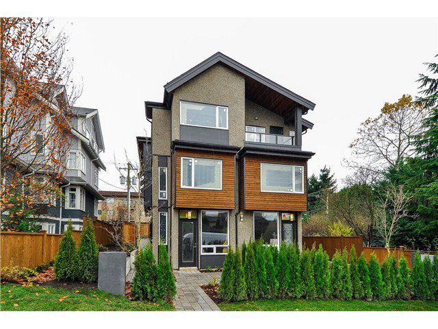 "Main Photo: 1806 E PENDER Street in Vancouver: Hastings Townhouse for sale in ""AZALEA HOMES"" (Vancouver East)  : MLS®# V1051665"