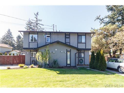 Main Photo: 2314A Sooke Road in VICTORIA: Co Hatley Park Strata Duplex Unit for sale (Colwood)  : MLS®# 335743