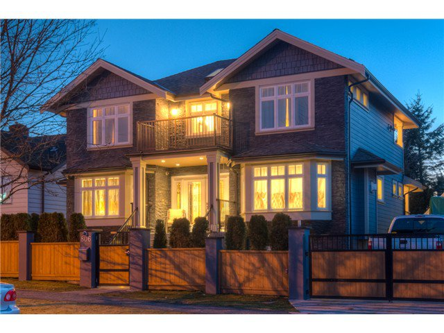 "Main Photo: 806 FOURTH Street in New Westminster: GlenBrooke North House for sale in ""GLENBROOKE NORTH"" : MLS®# V1129577"