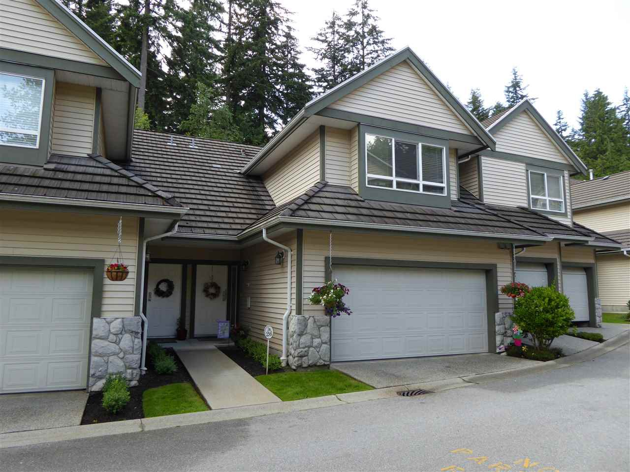 "Main Photo: 26 50 HETT CREEK Drive in Port Moody: Heritage Mountain Townhouse for sale in ""Mountainside"" : MLS®# R2080475"