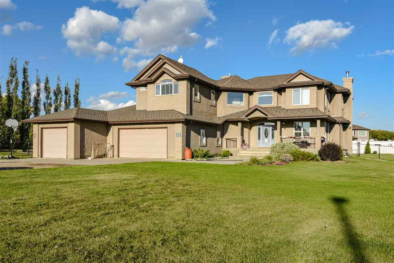 Main Photo: 111 206 Street in Edmonton: Zone 57 House for sale : MLS®# E4144678