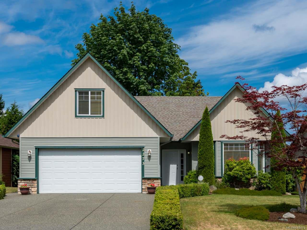 Main Photo: 2273 Swallow Cres in COURTENAY: CV Courtenay East House for sale (Comox Valley)  : MLS®# 818473