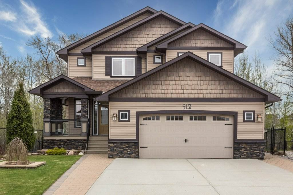 Main Photo: 512 WESTERRA Boulevard: Stony Plain House for sale : MLS®# E4198073