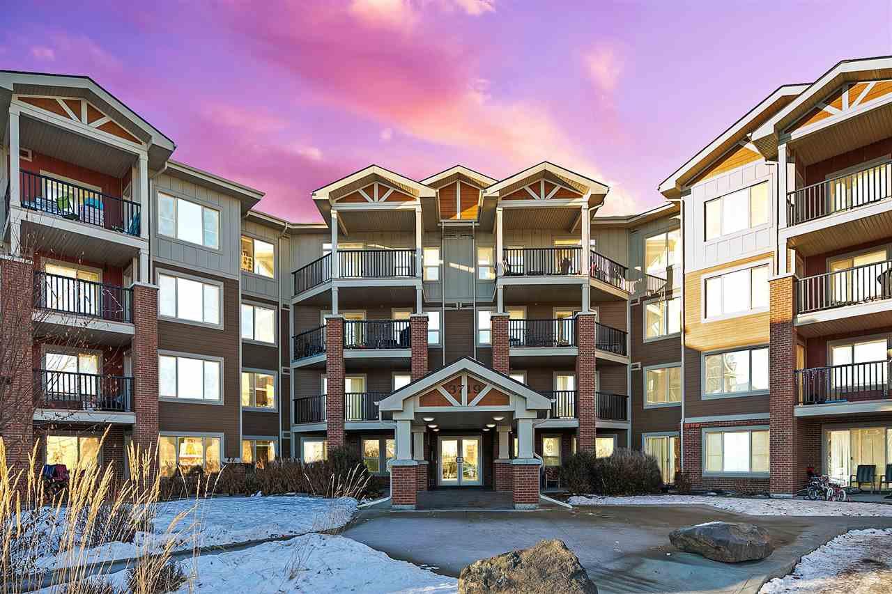 Main Photo: 304 3719 WHITELAW Lane in Edmonton: Zone 56 Condo for sale : MLS®# E4224960