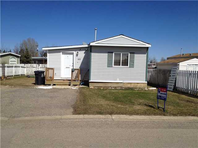 "Main Photo: 63 9207 S 82ND Street in Fort St. John: Fort St. John - City SE Manufactured Home for sale in ""SOUTH RIDGE MOBILE HOME PARK"" (Fort St. John (Zone 60))  : MLS®# N235768"