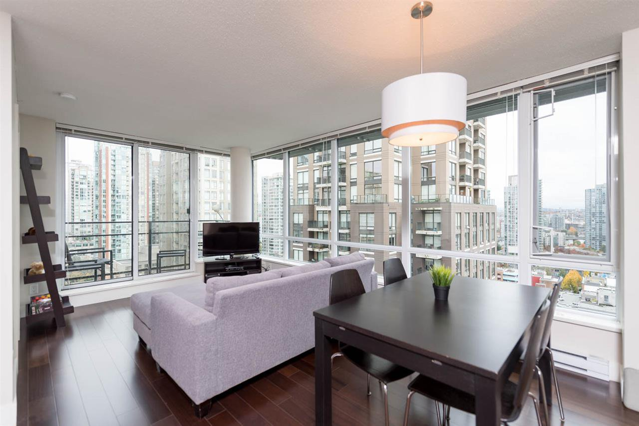 "Main Photo: 1807 1088 RICHARDS Street in Vancouver: Yaletown Condo for sale in ""Richards Living"" (Vancouver West)  : MLS®# R2121013"
