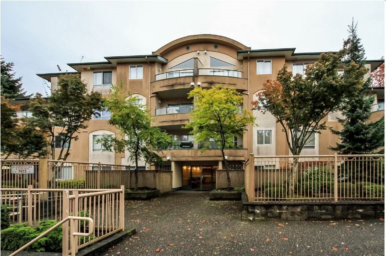 "Main Photo: 302 7475 138 Street in Surrey: East Newton Condo for sale in ""CARDINAL COURT"" : MLS®# R2154698"