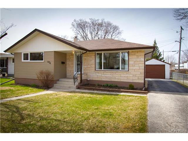 476 Besant St. 1052 square ft. bungalow in a great location.