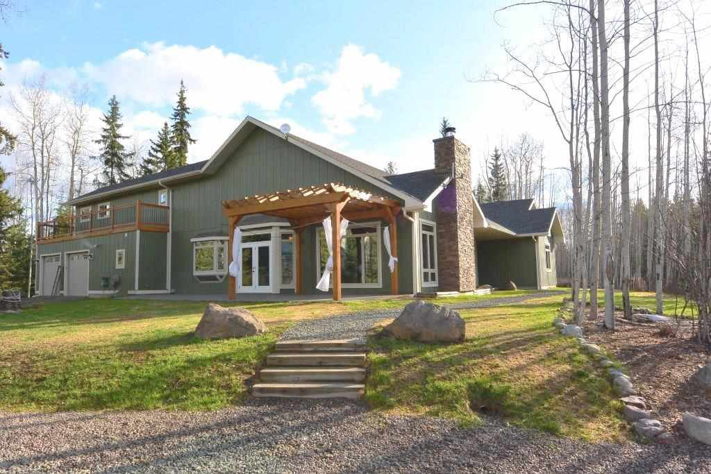 Main Photo: 5120 Derbyshire Road Rural Smithers BC | 4.99 Acres with Custom Built Home