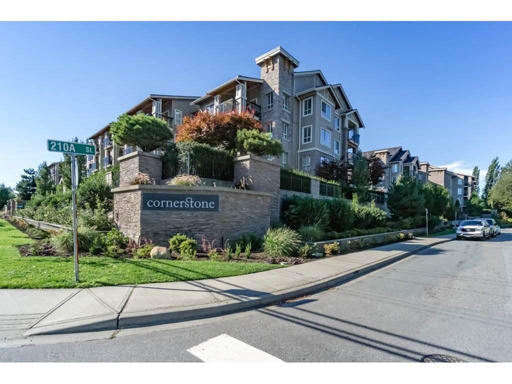 """Main Photo: 211 21009 56TH Avenue in Langley: Salmon River Condo for sale in """"CORNERSTONE"""" : MLS®# R2204459"""