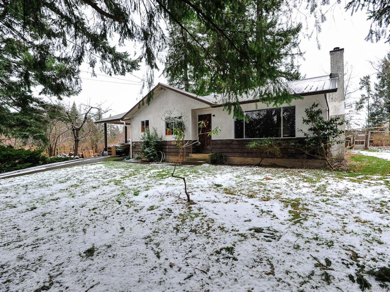 Main Photo: 4812 N Island Hwy in COURTENAY: CV Courtenay City House for sale (Comox Valley)  : MLS®# 779950